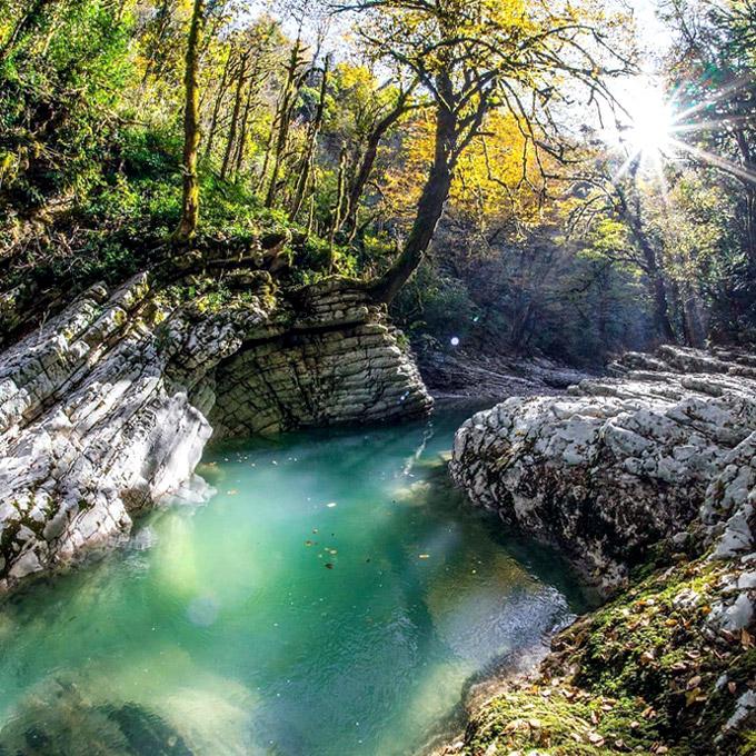 Каньон реки Псахо (Адлер)