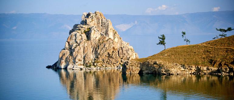 На Байкале. Природа