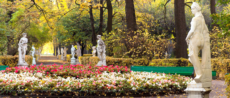 Летний сад. Скульптуры