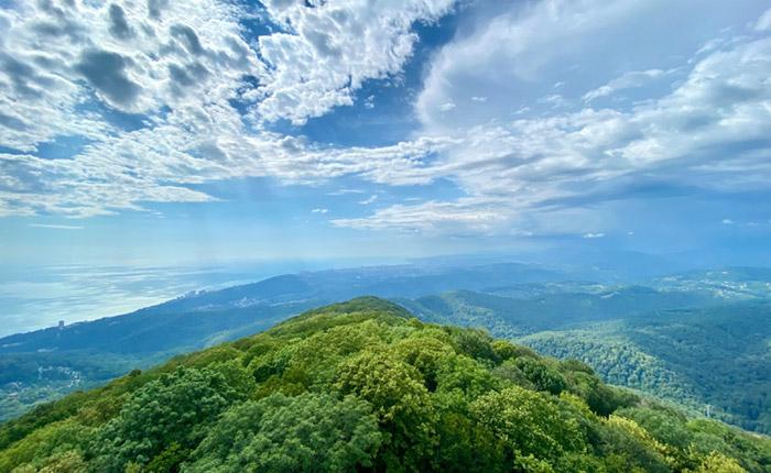На горе Ахун