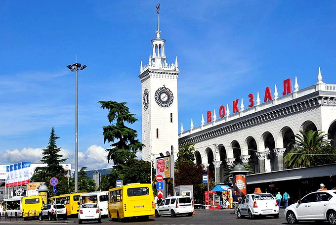 Сочи железнодорожный вокзал