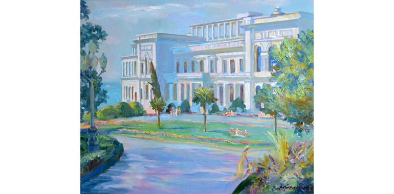Белый дворец в Ливадии
