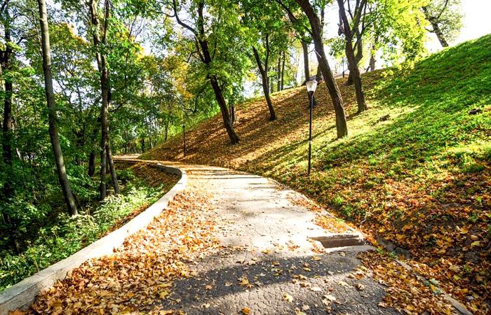 Александровский парк в Нижнем Новгороде