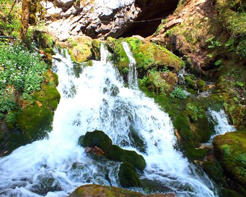 Водопад Исиченко (Адыгея)
