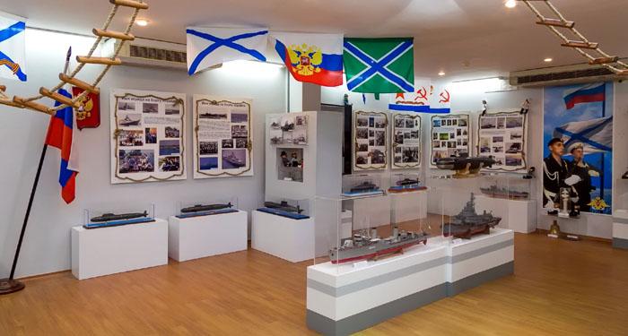 Военно-морской музей в Новомихайловском