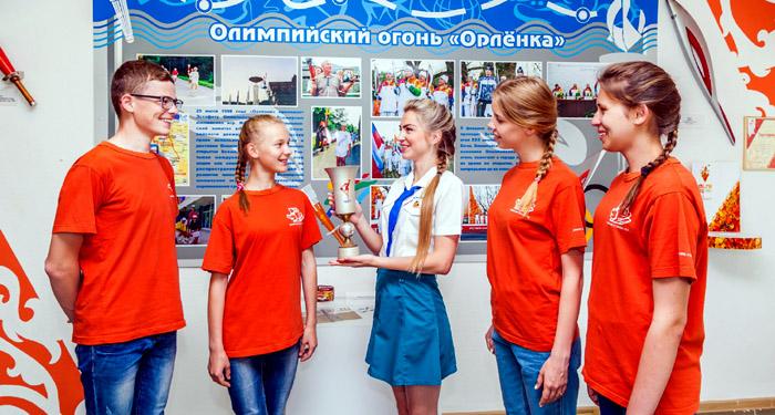 Новомихайловский Музей спорта в Орленке
