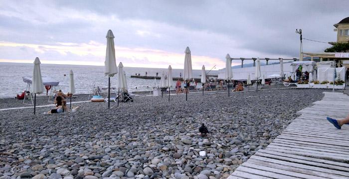 Пляж Русалочка в Сочи