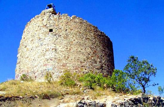 Развалины Чобан-Куле (Крым)