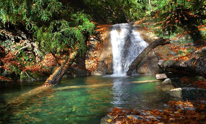 Водопады в Лазаревском