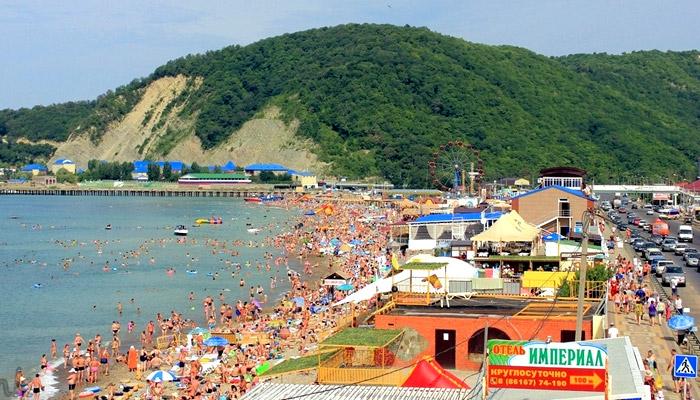 Отдых в Джубге на берегу Черного моря