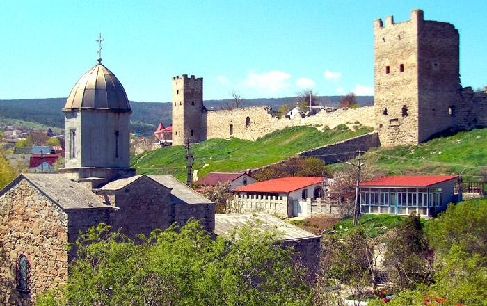 Феодосия крепость Кафа
