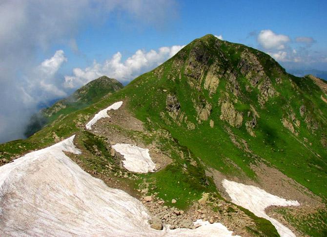 Гора Ачишхо (Красная поляна)
