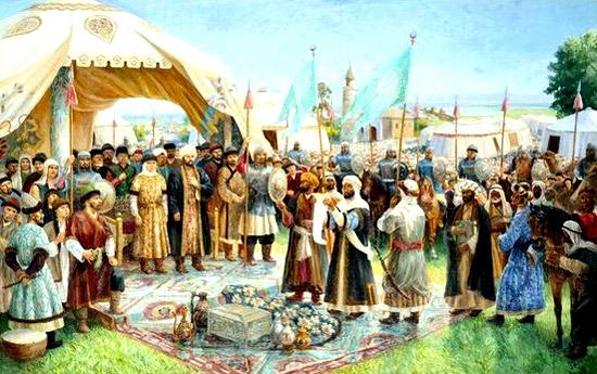 Волжская Булгария приняла ислам