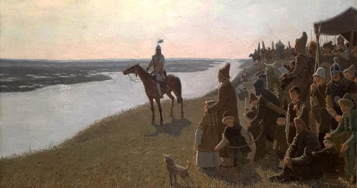Равиль Загидуллин из триптиха Болгары на Волге
