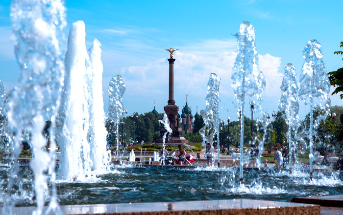 Центр города Ярославля